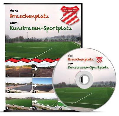 """DVD """"Vom Braschenplatz zum Kunstrasen-Sportplatz"""""""