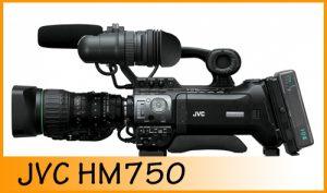 Technik Schnittvogel - JVC HM 750