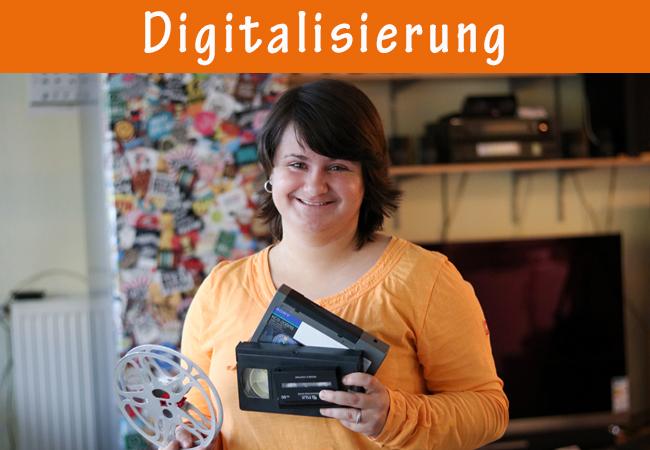 SchnittVogel Produktion - Digitalisierung